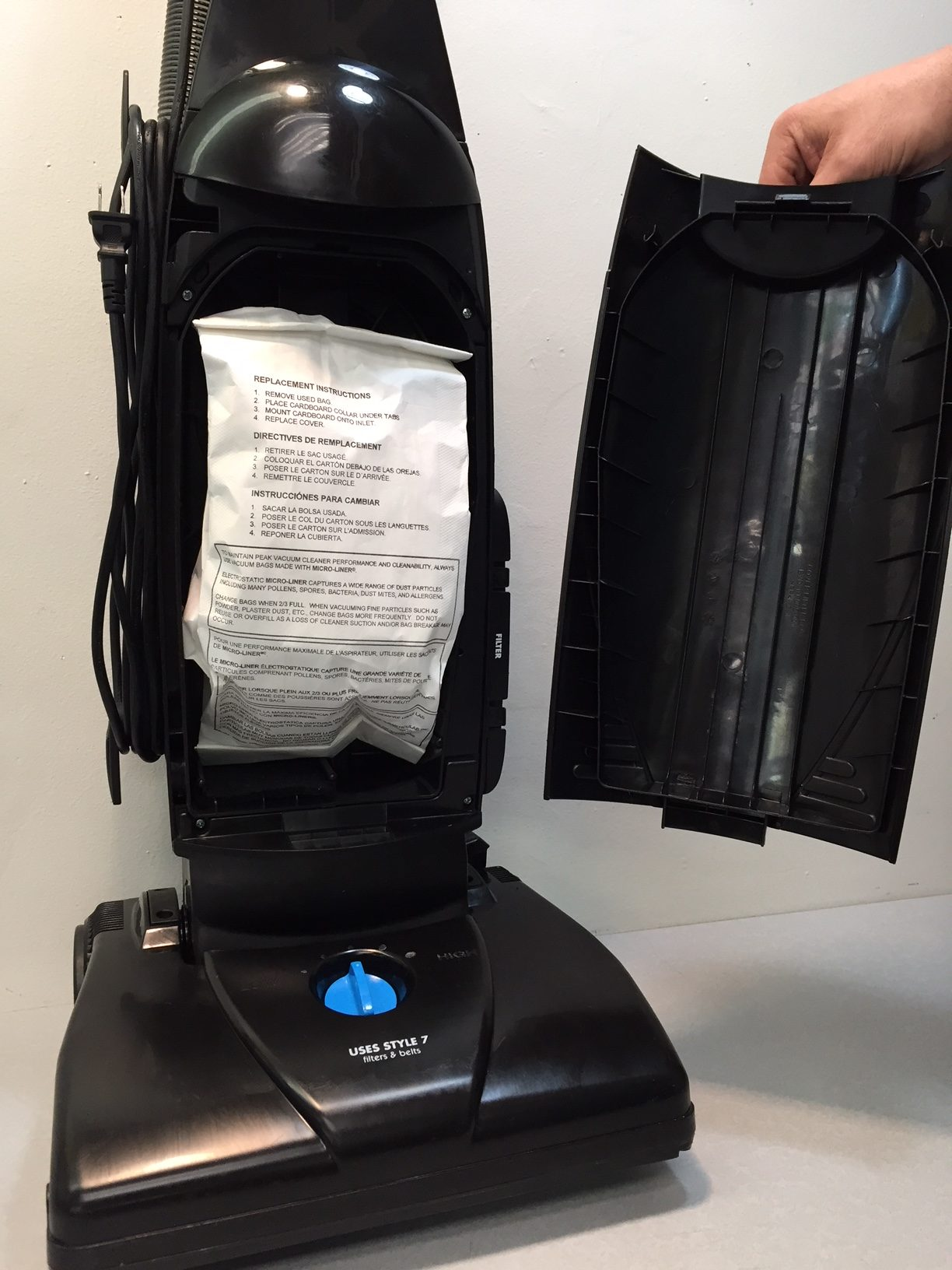 Bissell Powerforce Bagged Vacuum Cleaner Model 1398